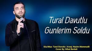 دانلود آهنگ ترکی تورال داوودلو به نام گونلریم سولدو